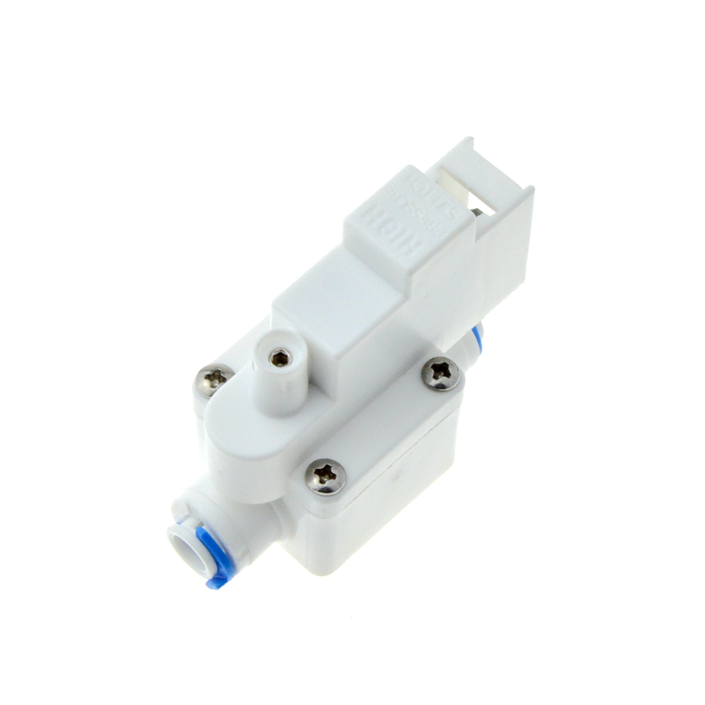 High Pressure Controller 1//4 inch DC 24V High Pressure Switch for Pump RO Water Fitlers Reverse Osmosis Tank 0.25MPa Action