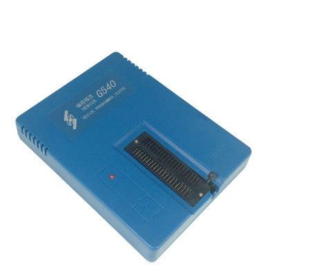 1 pc GENIUS G540 EPROM MCU GAL PIC USB Universal Programmer genius hs 300a silver
