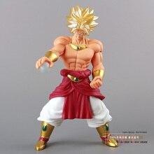 Free Shipping Anime Dragon Ball Z Super Saiyan Broly PVC Action Figure Model Toy 10