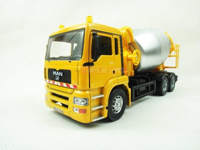 Free shipping Germany Man giant cement mixer alloy model car Scale 1:32 Joycity Car Model