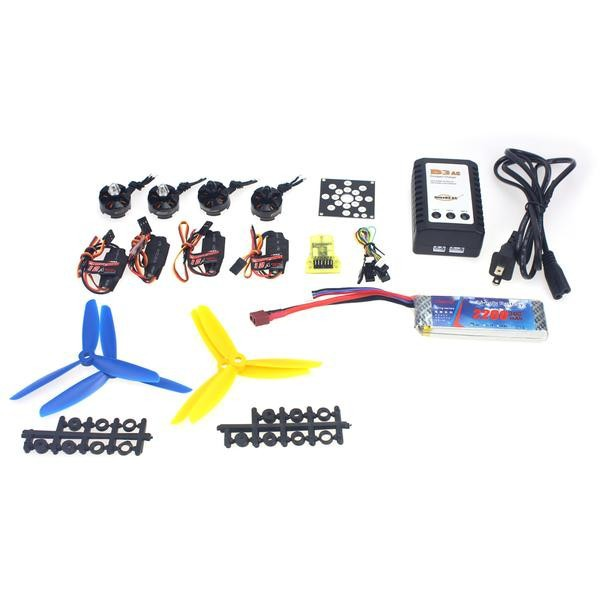 JMT 4Axis RC Helicopter Kit KV2300 Brushless Motor+12A ESC+Straight Pin Flight Control+FC5x4.5 Propeller for 250 Helicopter electronic components set kv2300 brushless motor 12a esc straight pin flight control open source for 250 helicopter f12065 b