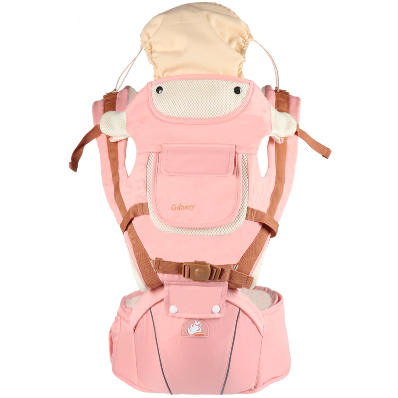 1 Pcs All Seasons Sunshade Breathable Baby Carrier 0 36 Months Baby Hip Waist Carrier Mommy Multifunctional Load 20kg Kids Sling|Backpacks & Carriers| |  - title=