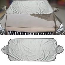 146 x 70cm Car Windscreen Cover Heat Sun Shade Anti Snow Frost Ice Shield Dust Protector