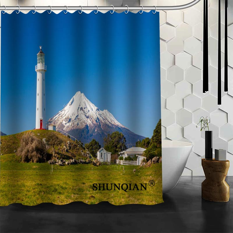 Good Custom Lighthouse Shower Curtain New Arrival Bathroom Accessories Bath  Screens Customized Curtain In Shower Curtains From Home U0026 Garden On  Aliexpress.com ...