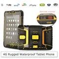 7 Polegada Tablet PC PDA Scanner de Código De Barras 2D Android Robusto À Prova D' Água ST907 4G LTE Telefone HF RFID UHF Leitor de Impressão Digital GPS Infravermelho