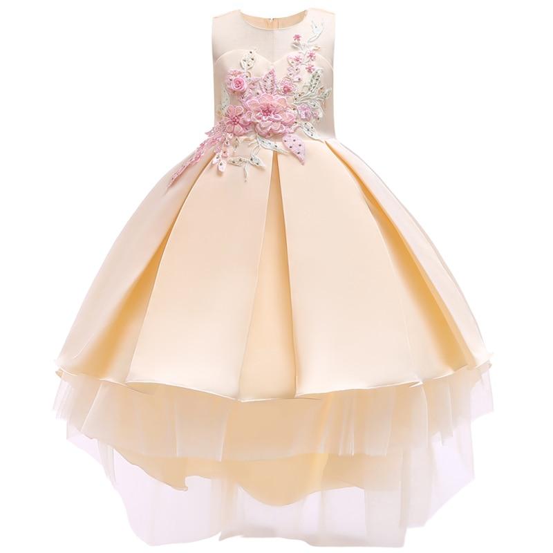 97cd1926477b 2018 Baby Girls Infant Embroidery Dress kids Gold Wedding Toddler High-end  Dress Flower Vestidos. sku: 32958132613