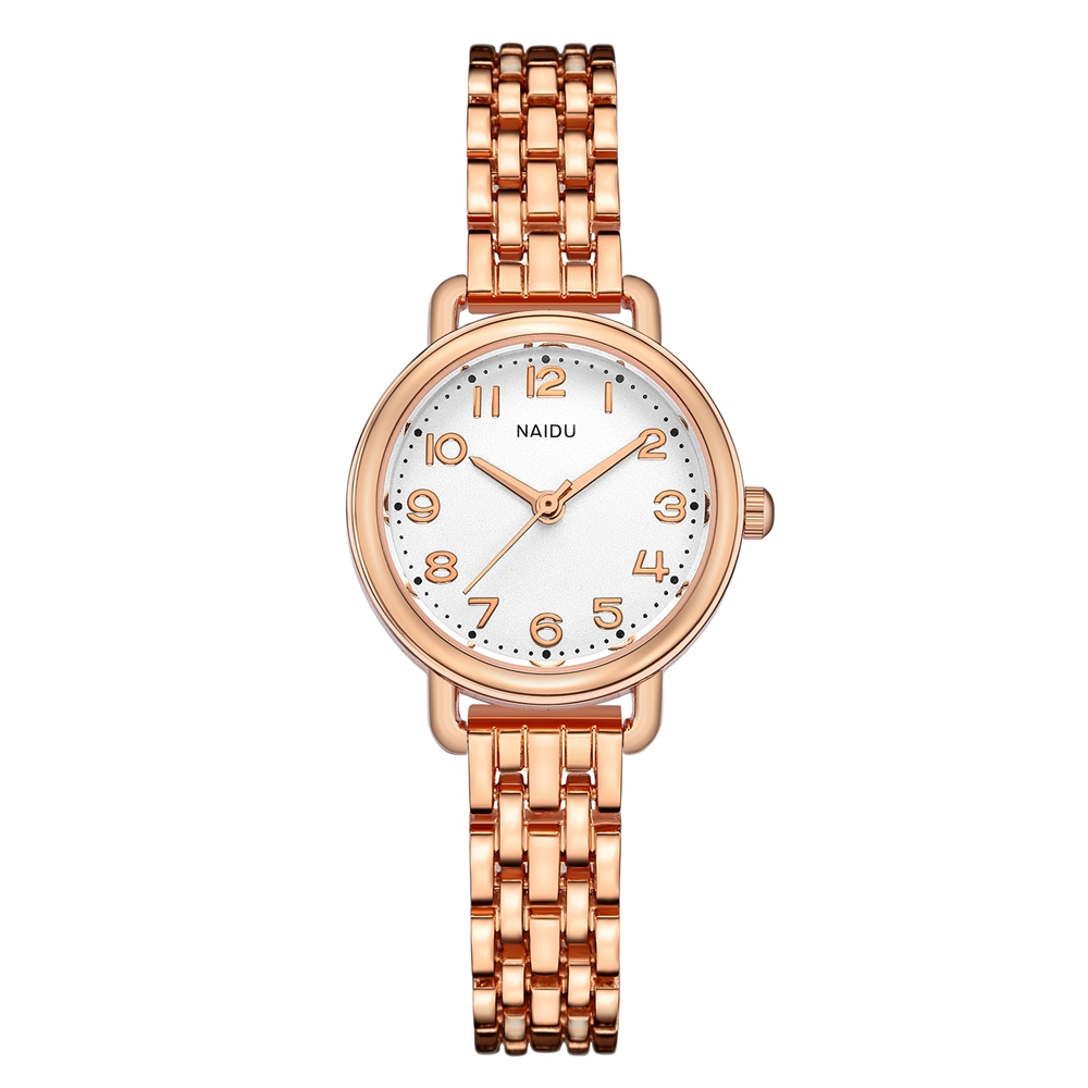Bracelet Watch for Women Luxury Rose Gold Jewelry Wristwatch