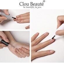 Clou Beaute Base And Top Coat Gel