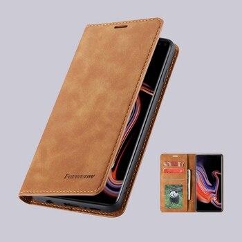 Flip Leather Wallet Galaxy S10 Case