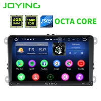 JOYING Latest Octa Core 2gb Ram HD 9 Inch Android 6 0 Car Autoradio For VW