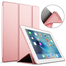 Case for iPad 4 3 2 9.7 Ultra Thin Magnetic Stand PU Leather Funda for iPad 3 Silicone Soft TPU Back Cover for iPad 4 Smart Case folio flip pu leather stand cover cases for ipad 2 3 4 9 7 inch tablet tpu back skin cute carton kid case for ipad 4 3 2 funda