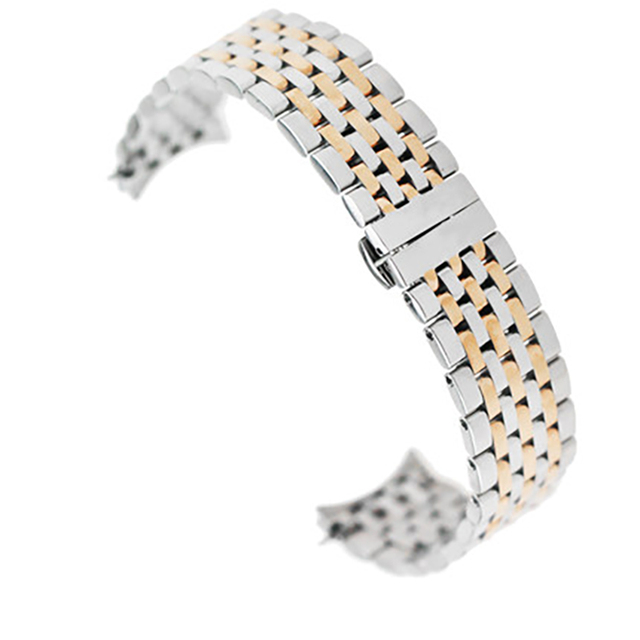 ISUNZUN Men's Watch Strap For MIDO Mido Baroncelli M027.407A/M027408A Watches Accessories 20mm Stainless Steel Watchbands | Fotoflaco.net