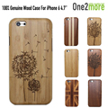 100% Natural Bamboo Wood Phone Case Cover For iphone 6 6s 6plus 7 7 plus Hard Back Cover Case Protector For iphone 6S plus