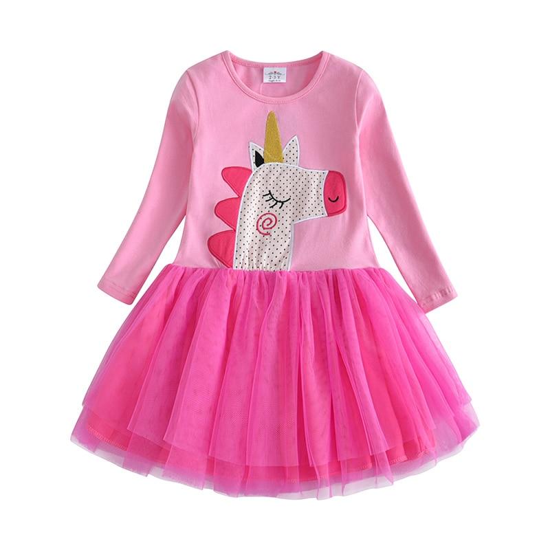 HTB1NkJwcmzqK1RjSZFpq6ykSXXal VIKITA Kids Girls Dress Baby Children Toddler Princess Dress Vestidos Children's Clothing Girls Winter Dresses 2-8Y LH5805 MIX