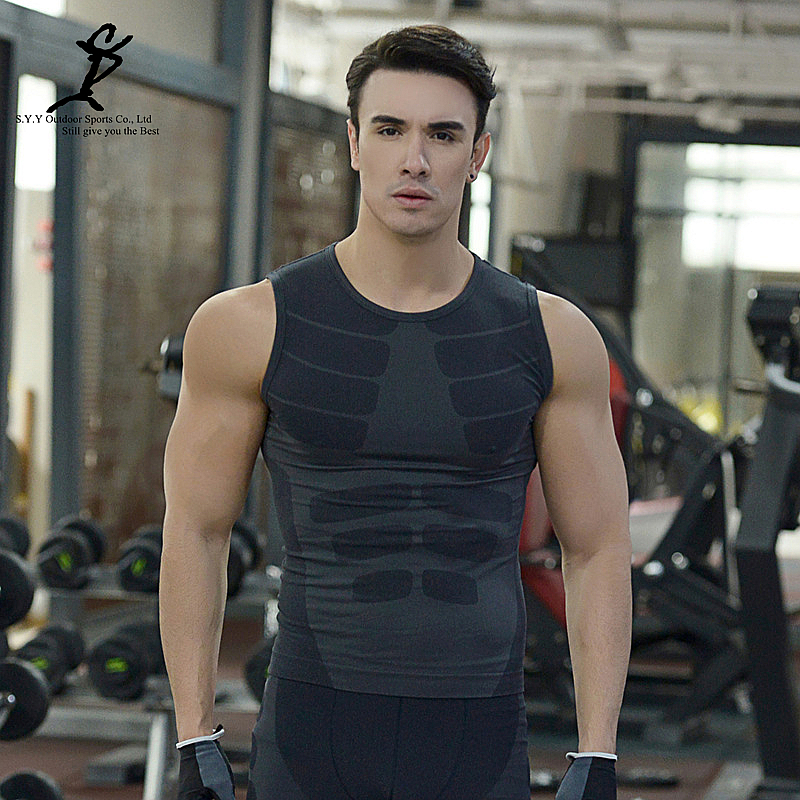 Fitness Clothes Buy Online: Aliexpress.com : Buy Men Gym Compression Tank Tops Quick