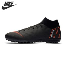 Original New Arrival 2018 NIKE SUPERFLY 6 ACADEMY TF Men's Football Shoes  Soccer Shoes Sneakers(