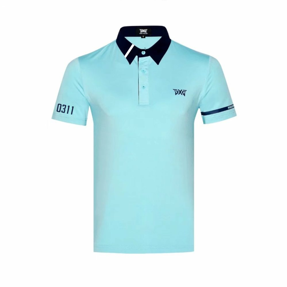 NEW Golf clothes PXG Golf T-shirt Short sleeve mens Sportswear Short sleeve 5colors S-XXL to choice free shipping billabong men s thirsty surf short sleeve t shirt