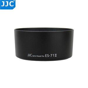 Image 1 - JJC LH 71II Bajonet Camera Zonnekap voor CANON EF 50mm f/1.4 USM Lens vervangt ES 71II