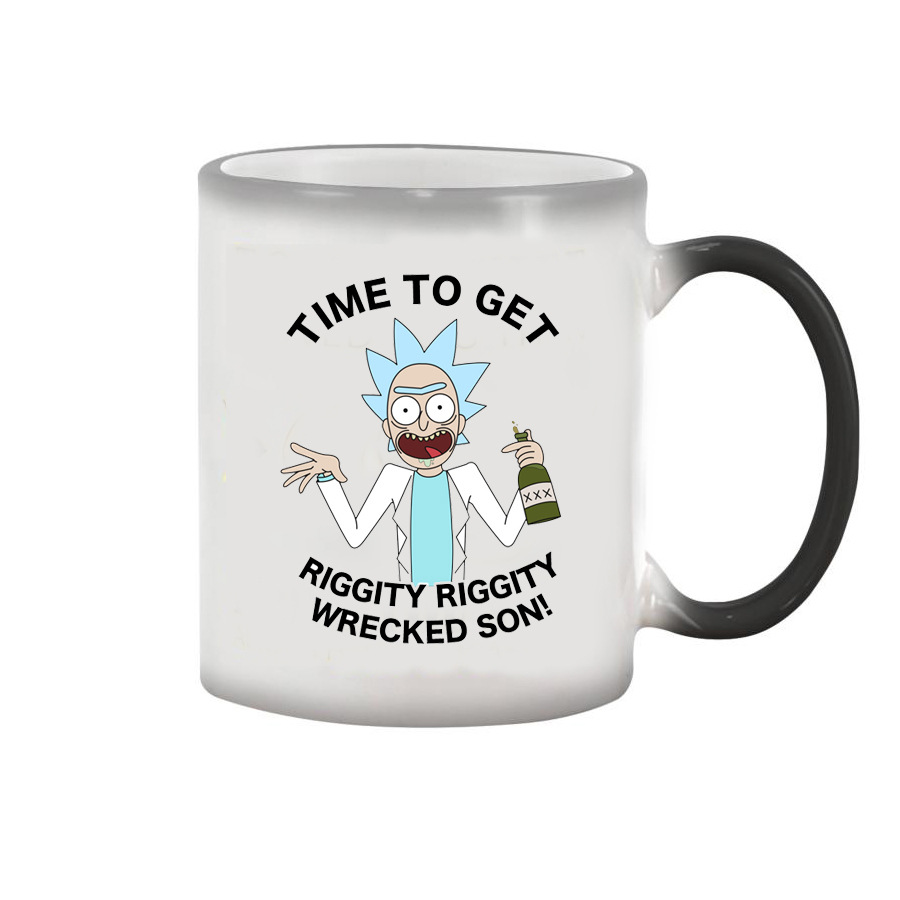 Medium Of Cartoon Coffee Mug