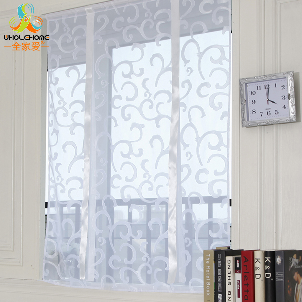 extraordinary cafe curtain living room   Window Treatment Roman Curtain Cafe Curtain Polyester ...