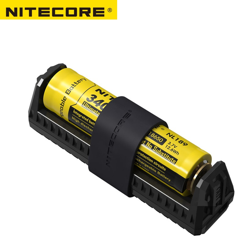 100% Original Nitecore F1 Micro-USB Smart Battery Charger Charging Flexible Power Bank For Li-ion /IMR 26650 18650 Battery