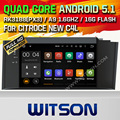 WITSON Android 5.1 Quad Core CAR DVD for CITROEN NEW C4L 2012 SAT NAV CAR STEREO+1024X600 SCREEN+DVR/WIFI/3G+DSP+RDS+16GB flash