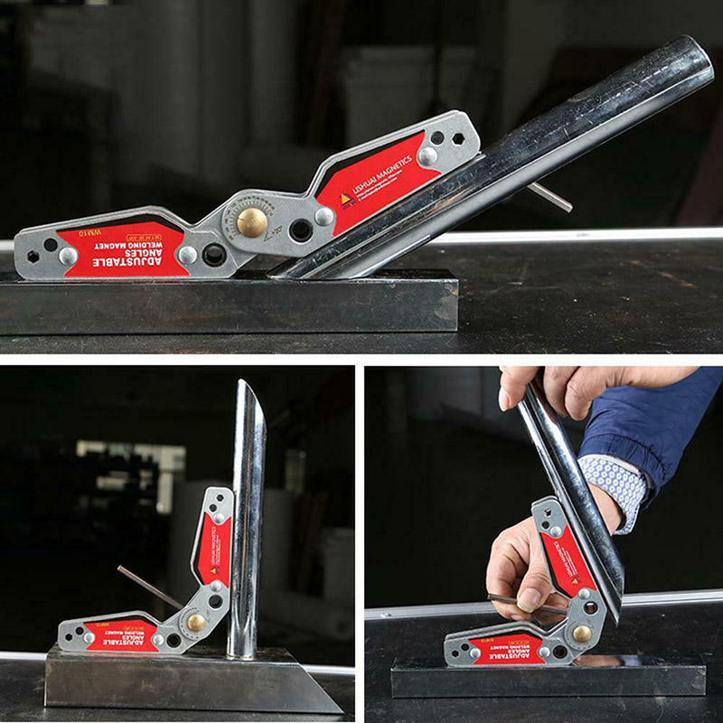 'The Best' Magnetic Welding Holder Adjustable Angles 20-200 Magnets Angle Clamp Locator Tools with Hex Wrench 889