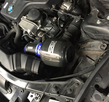 For BMW X1 Fine Quality China Brand EDDYSTAR  CF-A Carbon Fiber Cold Air Intake System Air Filter With Sheild