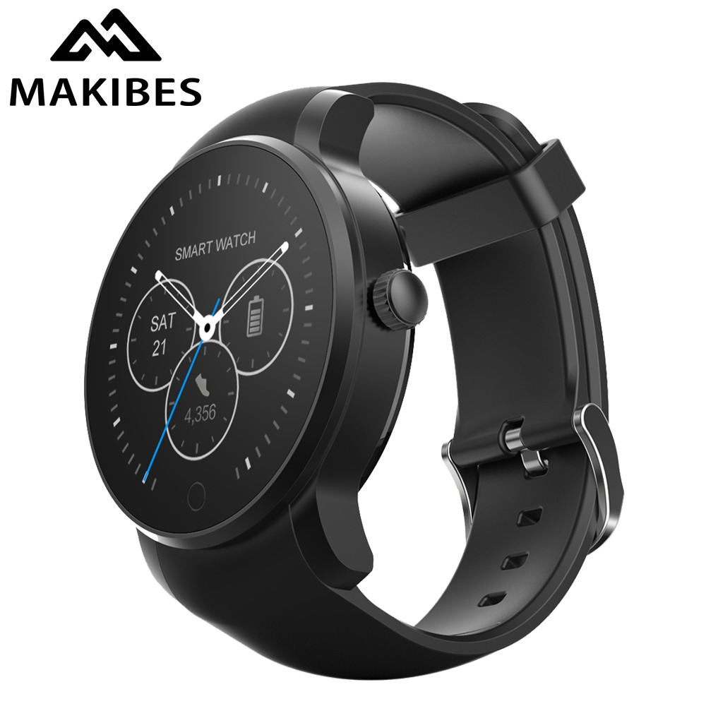 Makibes 09S Smart Watch Wristwatch Heart Rate Monitor Smartwatch Phone Sleep Monitor SIM Bluetooth Call Reminder for Android ios nibosi men s watches new luxury brand watch men fashion sports quartz watch stainless steel mesh strap ultra thin dial men clock