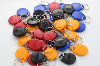 125khz EM4305 T5577 Writable Duplicator Copy 125khz RFID Tag Key Fob Token Ring Proximity RFID Card 10pcs/lot image