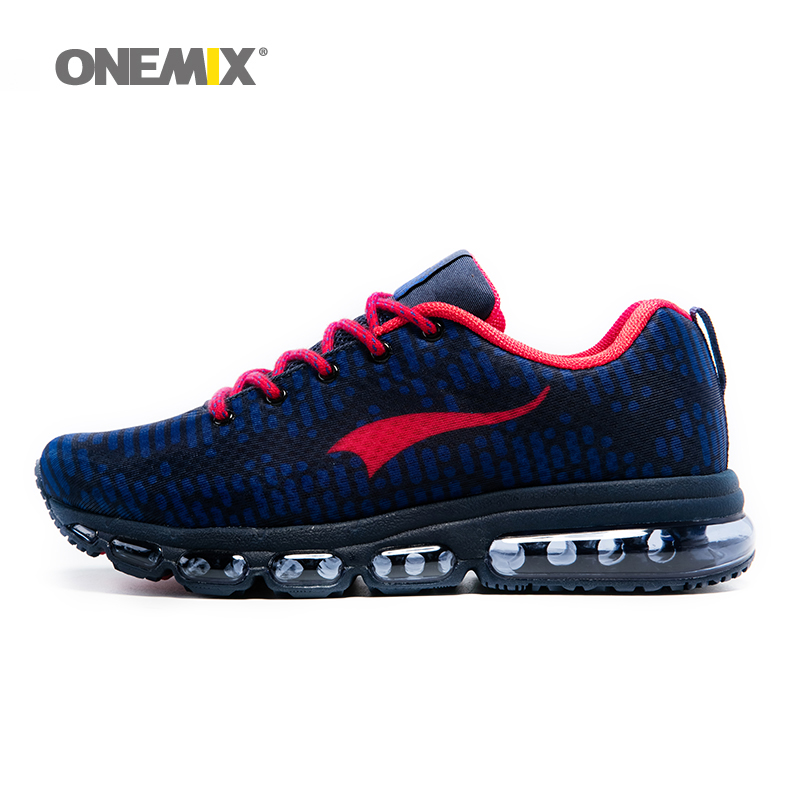 ФОТО Onemix men & women running shoes breathable unisex sport sneakers lovers cushion athletic shoes zapatos de hombre adult shoes