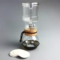 400ml Water Drip Coffee Maker Reusable Filter Tools Glass Espresso Coffee Dripper Pot Ice Cold Brew percolators Coffee Machine