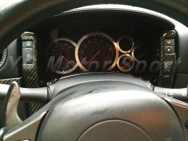 Accesorios para autos Fibra de carbono seca Tejido liso y de sarga - Accesorios de interior de coche