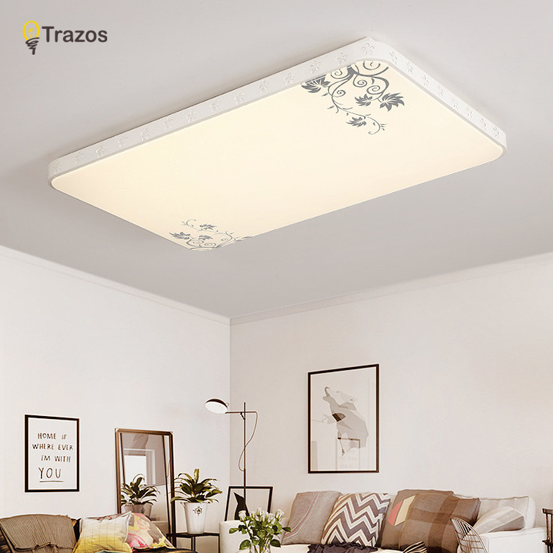 2017 Led Ceiling Lights For Home Remote Control Dimming Living Room Bedroom Light FIxtures Modern Ceiling Lamp Luminaire Lustre noosion modern led ceiling lamp for bedroom room black and white color with crystal plafon techo iluminacion lustre de plafond