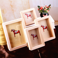 New European Style Wood Material Photo Frame For Baby Gift 3Inch 6inch Picture Frames