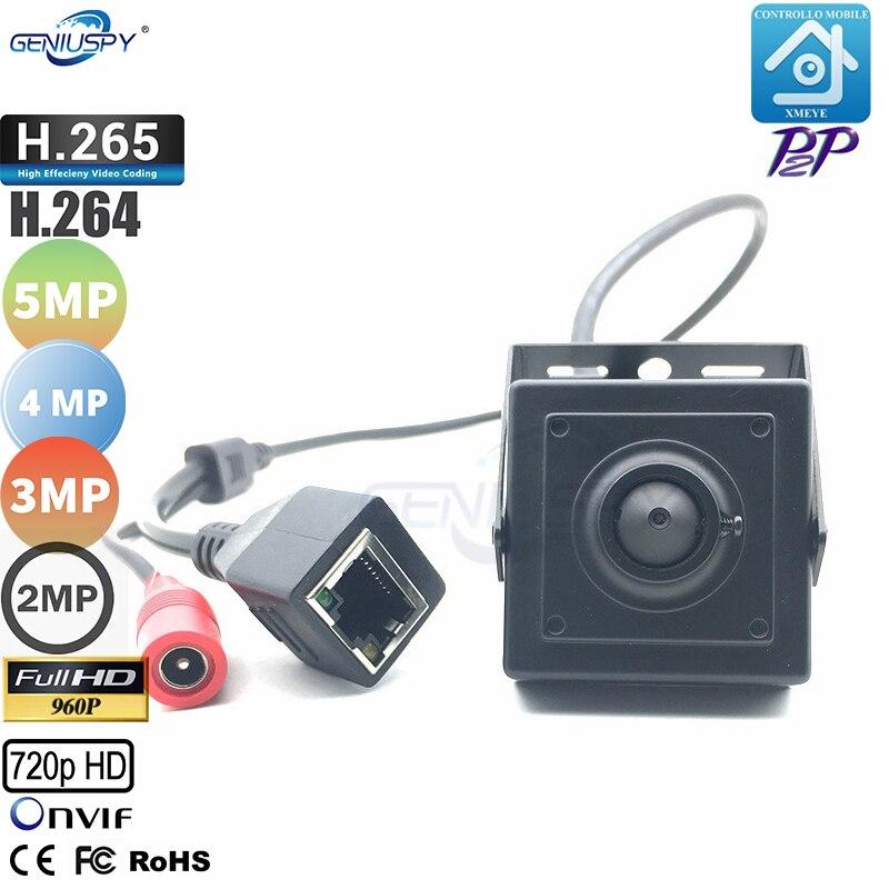 Geniuspy Cheap 720P 960P 1080P 3MP 4MP 5MP ONVIF P2P Security Indoor Mini IP Camera CCTV Mini Camera Surveillance IP Camera