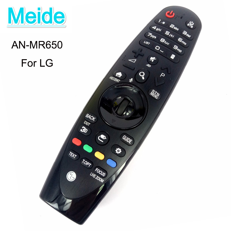 NEW Original lg an-mr650 For LG magic remote lg tv remote control AN-MR650 UF8500 UF9500 Voice Mate Smart TV new for panasonic tv remote pan 918 for n2qayb000485 n2qayb000100 n2qayb000221