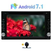 Eincar Android 7.1 2 Din Car Stereo Touch Screen DVD Player Support 3D GPS Navigation Map Bluetooth 3G/4G WIFI OBD2 SWC USB/SD