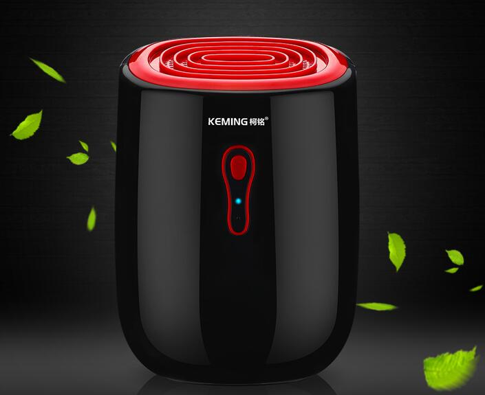 New 25W Mini Dehumidifier Moisture Absorber with 500ML Water Tank Portable Air Dehumidifier for Home Kitchen Quiet Air Dryer