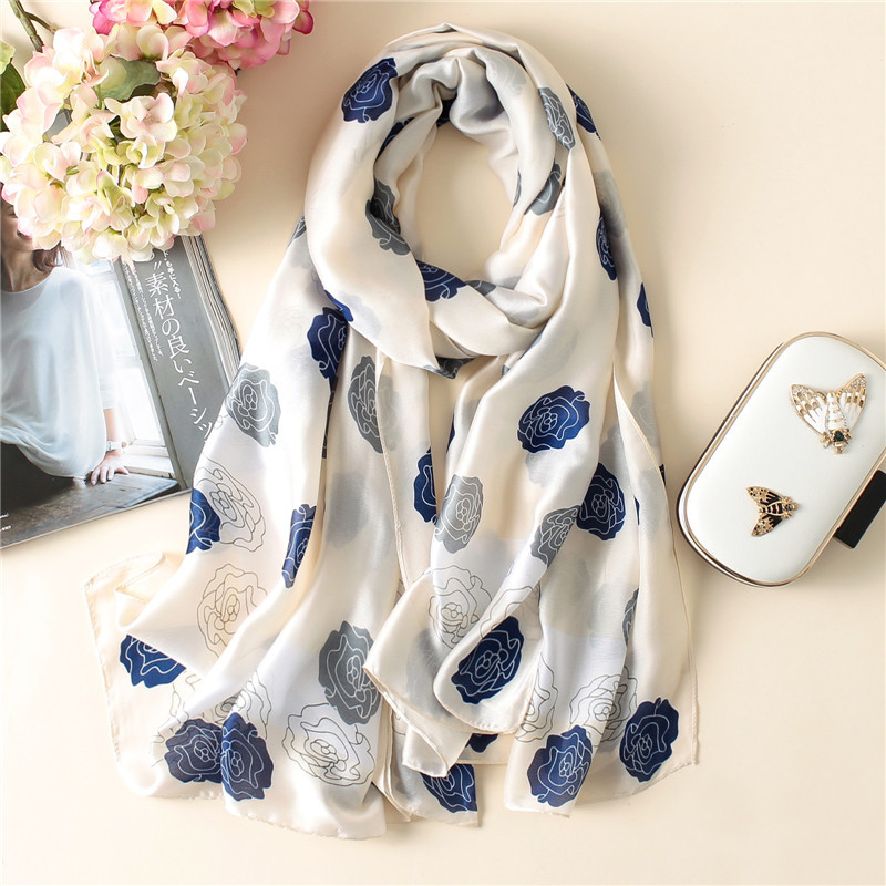 Luxury Brand Women   Scarf   Hot Summer Soft Long Size Shawls Silk   Scarves     Wrap   Lady Bandana Pashmina Cachecol hijabs Shawls