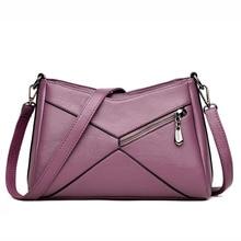 Prémium bőr női táskák Totes válltáskák nőknek Nagy kapacitású crossbody Messenger táska