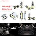 18pcs LED Canbus Interior Lights Kit Package For Volkswagen VW Touareg 2 (2008-2010)