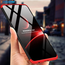 For Huawei P30 Pro lite Case 3 IN 1 360 Full Protection Ultra Thin Matte PC Back Cover Phone