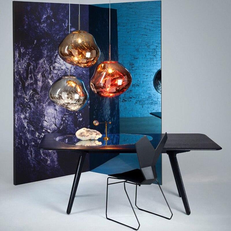 Пламя кулон свет скандинавский пламя мяч лампы творческий бар дизайнер личность отдыха ресторан бар мечта lava droplight