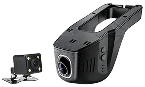 ФОТО New Universal Hidden Car DVR Camera Digital Video Recorder Novatek 96650  Double lens  1080P Car DVRs WiFi APP Manipulation