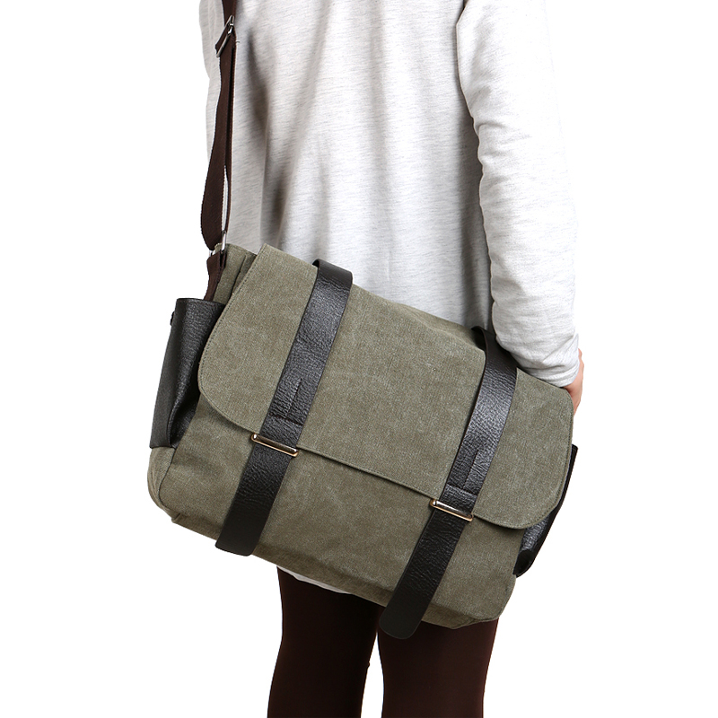Vintage Canvas Men Messenger Bags Laptop Patchwork Leather Crossbody Bags For Men Male Shoulder Bags Satchel School Bag 1117 цена 2017