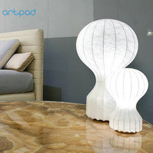 Artpad Modern Art Decoration Table Lamps Fabric Lampshade White Bedroom Bedside Lamp for Study Living Room Indoor Lighting E27 simple e27 crystal led table lamp indoor living study room bedroom bedside lighting hotel restaurant desktop decoration lights