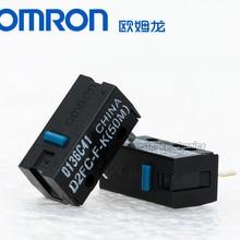5 шт. стиль мышь Omron micro swtich D2FC-F-K(50 м) синяя точка мышь кнопка совместима с D2FC-F-7N 10 м 20 м