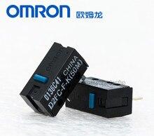 5PCS המקורי חדש סגנון OMRON עכבר מיקרו swtich D2FC F K (50 m) כחול דוט עכבר כפתור תואם עם D2FC F 7N 10m 20M