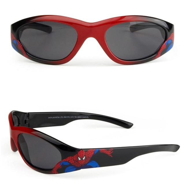 DRESSUUP 2016 Fahion Симпатичные Goggle Детские Мальчики Девочки Человек-Паук Солнцезащитные Очки Бренда Дизайнер Прохладно Дети Sunglasse Óculos De Sol Gafas